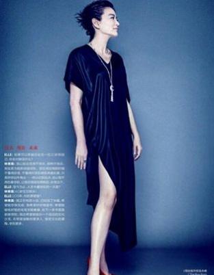 林青霞携女首登内地杂志 霸气美貌超越年龄界限