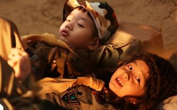 《爸爸去哪儿2》萌娃宣传片 杨阳洋多多沙滩嬉戏