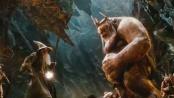 《霍比特人》激战片段 甘道夫携矮人逃离兽人魔掌