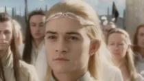《指环王3》男神片段 美男精灵王子贺阿拉贡封王