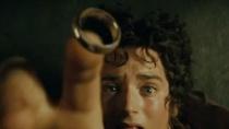 《指环王》魔戒片段 弗罗多戴戒隐形阿拉贡现身