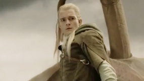 《指环王3》激战片段 精灵王子亡灵军团危机支援