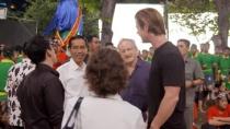 《骇客交锋》中文特辑 印尼总统意外现身片场