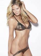 德国超模海蒂·克鲁姆拍写真 欲掀内裤性感撩人