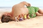 《海绵宝宝》超长片段 海底伙伴登陆海滩搬运人类