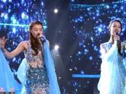黄晓明战队演绎《冰雪奇缘》主题曲 重现梦幻雪原