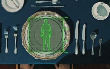 《王牌特工》精彩特辑 绅士特工餐桌杀人餐叉选择