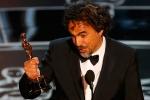 《鸟人》夺最佳导演奖 伊纳里图激动发表获奖感言