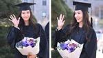 校花别走!少女时代允儿大学毕业