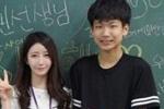 """又是别人的老师!韩国""""雪肌女实习老师""""走红"""