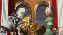 """《机器人历险记》结尾片段 """"机器人城""""纵情狂欢"""