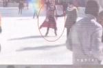 谢娜晒滑冰视频力证未怀孕 网友:过年长胖了?