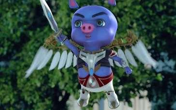 《无敌小飞猪》预告片 开创少儿魔幻真人动画先河