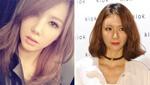 韩国女团成员疑整容过度 少女变大婶!