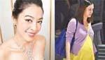 陈冠希旧爱颜颖思怀6个月身孕逛街