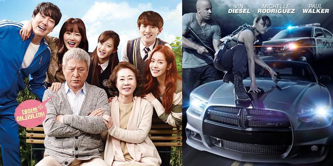 韩国票房:《速激7》连庄 《长寿商会》首周季军