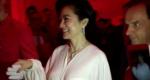 61岁林青霞一席白裙亮相活动 傲人身材隐约可见