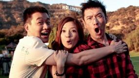 《横冲直撞好莱坞》首曝预告 赵薇、黄晓明激吻飙车
