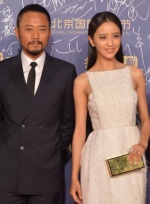 《智取威虎山》徐克与张涵予亮相 佟丽娅女神范