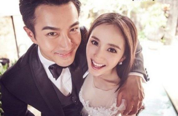 杨幂被刘恺威结婚照图片