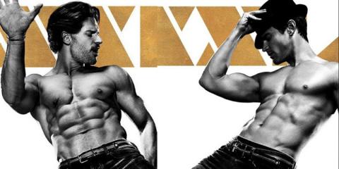 《魔力麦克2》再曝角色海报 乔·曼根尼罗秀男色