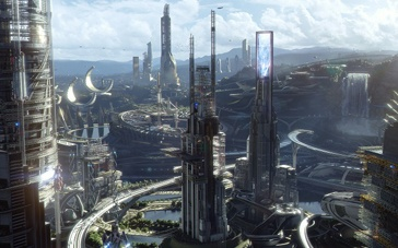 《明日世界》首发中文特辑 未来都市刺激冒险