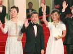 《山河故人》戛纳首映红毯 赵涛、张艾嘉雍容优雅