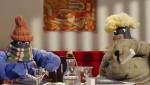 《小羊肖恩》精彩片花 羊伙伴扮成人类餐厅用餐
