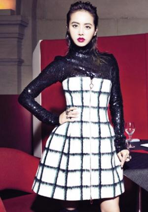 蔡依林拍写真变身妩媚厨娘 演绎巴黎风味时尚