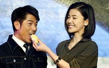 郭富城杨子珊组另类CP 臭味相同互喂榴莲惹人醉