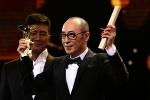 曹保平获最佳导演奖 陈建斌、蔡尚君登台颁奖