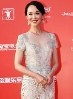 范文芳穿长裙优雅亮相红毯 不老容颜展迷人微笑