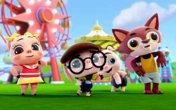 《三只小猪与神灯》主题曲MV 猪猪小狼齐卖萌