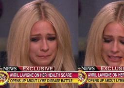 艾薇儿录节目谈重病崩溃大哭 8个月仍无法确诊
