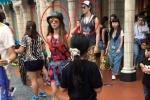 蔡依林锦荣新加坡约会被拍 女方着短裙穿运动鞋