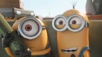 《小黄人大眼萌》搭车片段 小黄人遭遇手榴弹惊魂