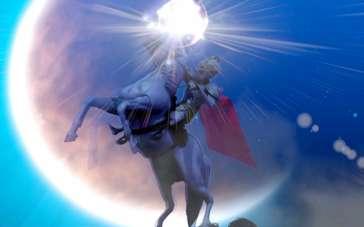 《魔镜奇缘》航空广告 美丽白雪皇冠等待新主人