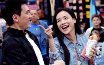 《我最好朋友的婚礼》探班 舒淇冯绍峰谈情说爱