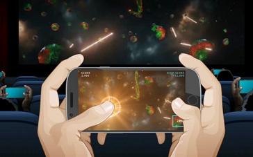 《像素大战》公映特辑 双屏时代开启互动玩电影