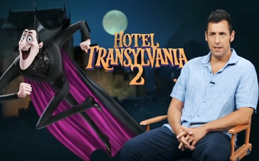 《精灵旅社2》访谈特辑 亚当·桑德勒化身德古拉