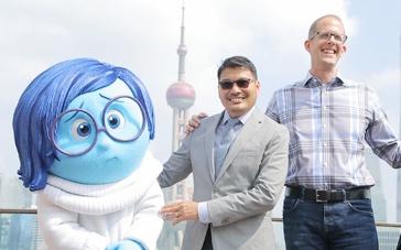 《头脑特工队》上海宣传视频回顾 忧忧刷存在感