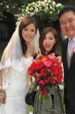 邓紫棋参加婚礼接捧花兴奋发文:婚期不远愁新郎