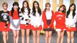 韩国女团AOA旋风袭台 辣秀七双美腿狂吃芒果冰