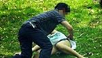 情欲男女在公园偷情全过程被偷拍