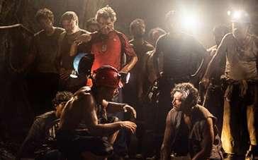 """《33名矿工》主创分享拍摄体验 """"绿巨人""""求转型"""