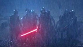 《星球大战7》电视宣传片 漆黑雨夜光剑闪耀凶光