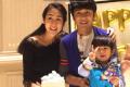 陈浩民为妻子庆30岁生日 蒋丽莎挺大肚身材纤瘦