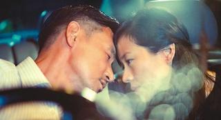 林嘉欣首度演丈夫袁剑伟新片 与张学友山顶热吻