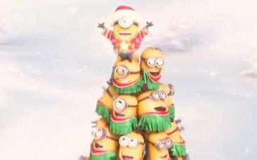 《小黄人》病毒视频 小黄人节日添彩热唱圣诞颂歌