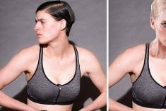 美国女模身材堪比维秘超模 却长着一张男人脸